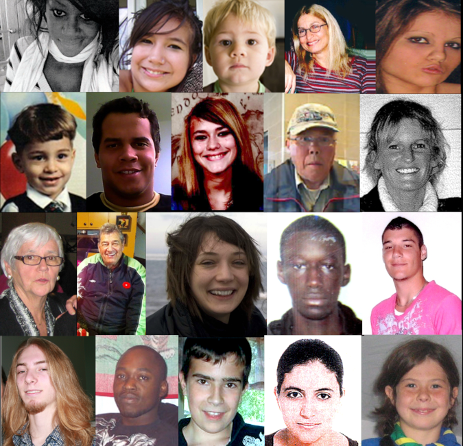 Quelques personnes disparues du Québec.